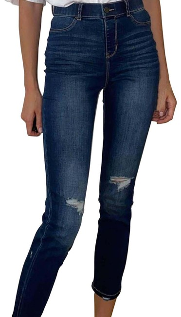 Item - Blue New Low Rise Skinny Jeans Size 31 (6, M)