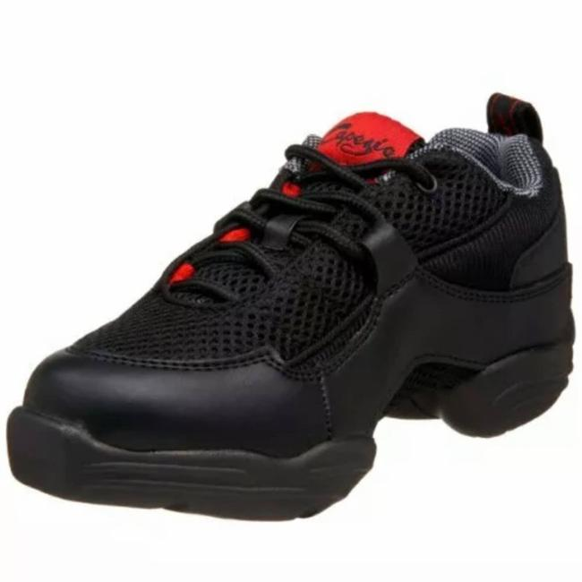 Item - Black Box New with Fierce Ds11 Dance and Red Sneakers Size US 9.5 Regular (M, B)