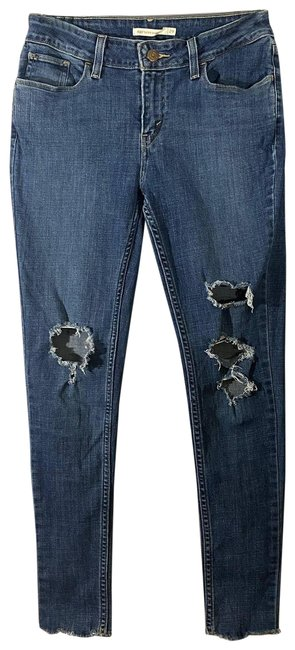 Item - Super 535 Ripped Skinny Jeans Size 29 (6, M)