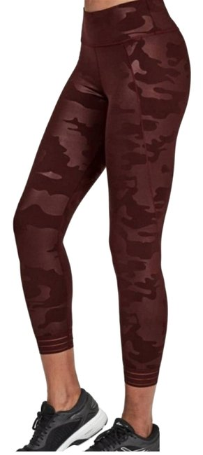 Item - Red S 7/8 Camo Tights Activewear Bottoms Size 12 (L, 32, 33)