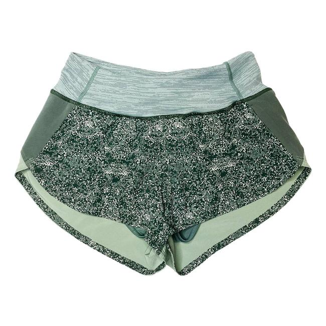"""Item - Green Hudson XS 2.5"""" In Pebbled Forest (Green) Shorts Size 0 (XS, 25)"""
