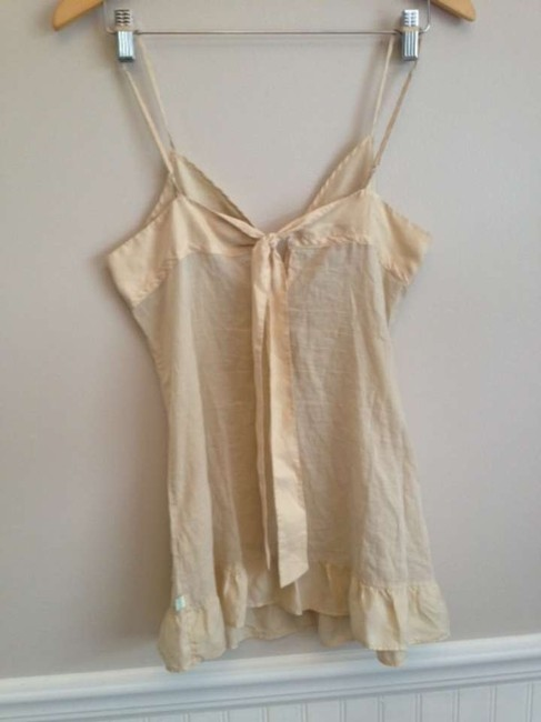 Hollister Top Cream tan