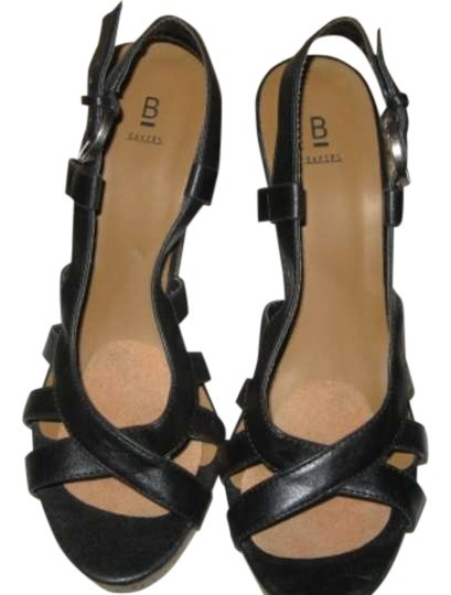Bakers Black Wedges