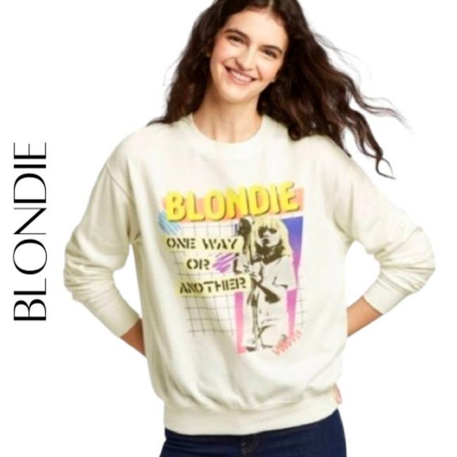 Item - White One Way Or Another Pullover Sweatshirt/Hoodie Size 8 (M)