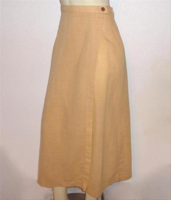 Patagonia Organic Long Wrapper Wrap Skirt Yellow