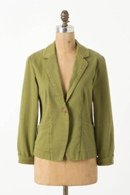 Preload https://item1.tradesy.com/images/cartonnier-anthropologie-army-green-kittery-blazer-jacket-elbow-patches-2983525-0-0.jpg?width=400&height=650