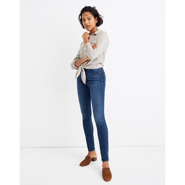 Item - Blue High-rise In Hayes Wash Skinny Jeans Size 26 (2, XS)
