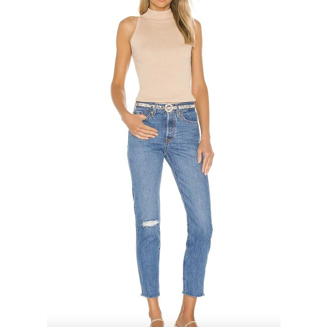 Item - Blue Wedgie Icon Straight Leg Jeans Size 27 (4, S)