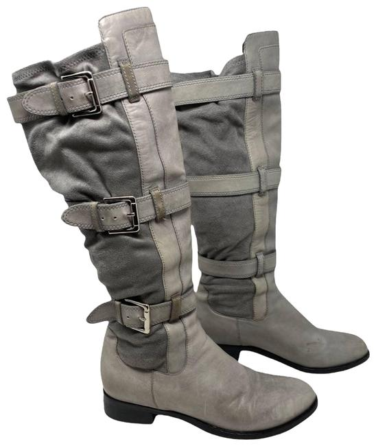 Item - Gray Air Avalon Leather Boots/Booties Size US 7 Regular (M, B)