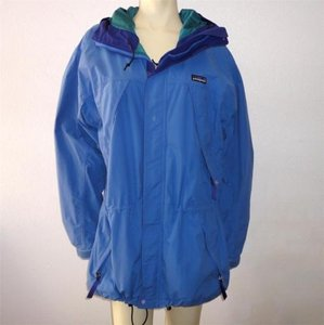 Patagonia Hooded Ski Blue Jacket