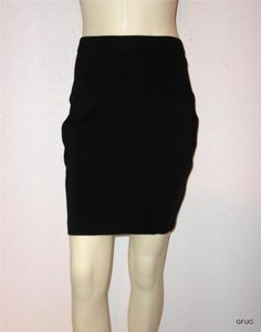 Tadashi Shoji Tadashi Stretch Knit Bodycon Pencil Fitted Skirt Blacks
