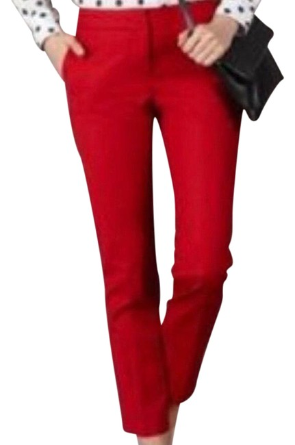 Item - Red Mid Rise Ankle Pants Size 8 (M, 29, 30)