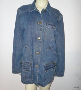 Ralph Lauren Jeans Company Blues Womens Jean Jacket