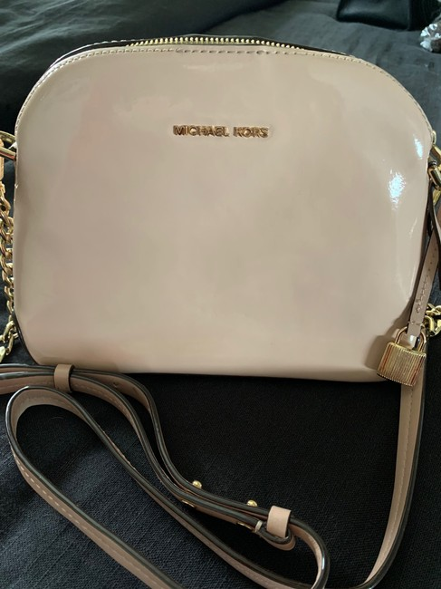 Item - Mercer Dome Pink Patent Leather Cross Body Bag