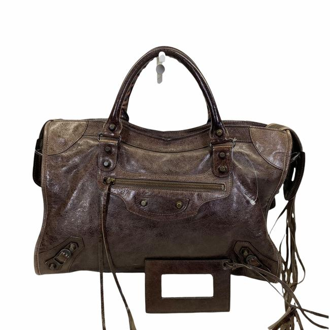 Item - Bag 101293e Brown Leather Tote