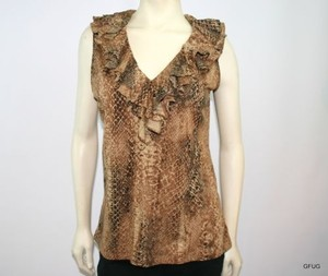 Ralph Lauren Snake Top Brown