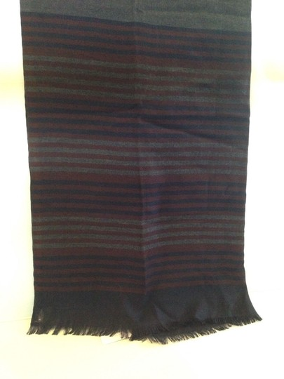 Salvatore Ferragamo SALVATORE FERRAGAMO AUTHENTIC NWT MULTI COLOR STRIPED SCARF