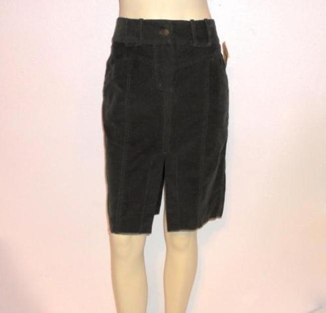 Other Tom K Nguyen Fine Corduroy Straight Slit 138 Skirt Green
