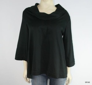 Soft Surroundings Top Black
