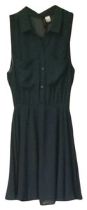 H&M short dress Forest Green on Tradesy