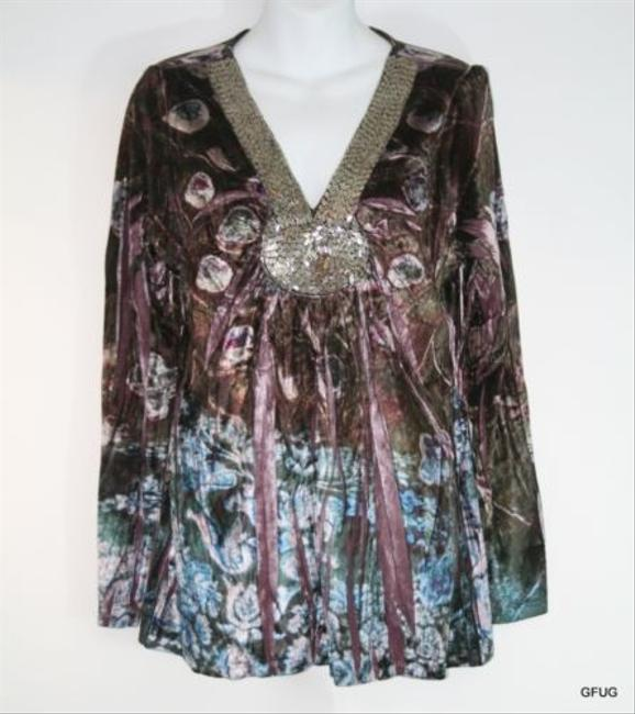 Preload https://item1.tradesy.com/images/one-world-tunic-pink-mauve-2985685-0-0.jpg?width=400&height=650