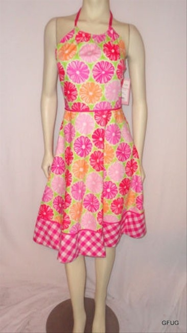 Lilly Pulitzer short dress Multi-Color 198 Floral Print Tinsley Halter Sun In Juice Stand on Tradesy