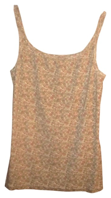 Ruff Hewn Top Tan, cream and peach