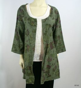 Click By Color Me Cotton Top Green