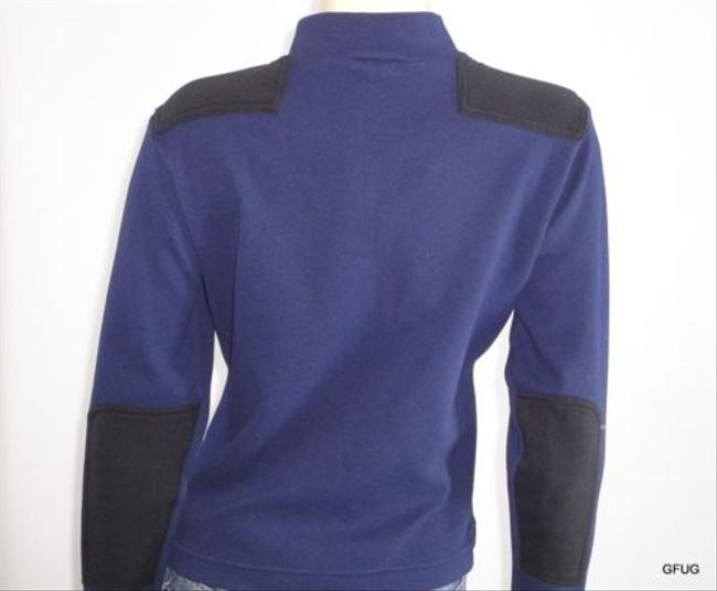 The North Face The North Face Blue 12 Zip Base Layer Pullover Top Shirt Jacket Padding