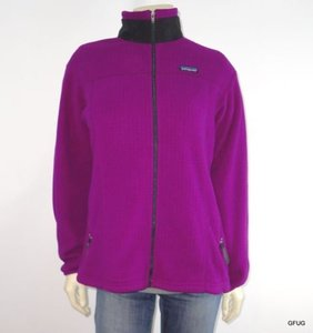Patagonia Patagonia Purple Thermal Polartec Fleece Regulator Zip-up Athletic Jacket