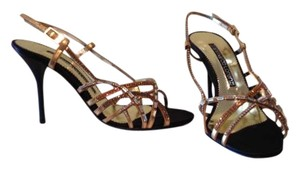Gianmarco Lorenzi Metallic Sandals