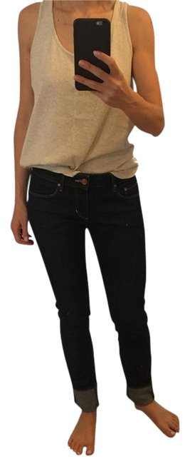 H&M Skinny Jeans-Coated