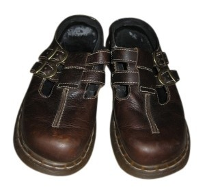 Dr. Martens Brown Mules