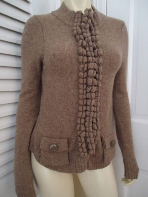 Preload https://img-static.tradesy.com/item/2987056/moth-anthropologie-sweater-sp-snap-front-cardigan-wool-blend-taupe-classy-0-0-650-650.jpg
