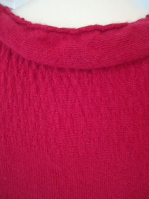 Knitted Knotted Anthropologie Dress Red Sweater Knit Rayon Wool Cashmere Blend Knitted Knotted Anthropologie Dress Red Sweater Knit Rayon Wool Cashmere Blend Image 10