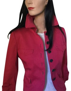 Aquascutum European London High-end London Superior Quality | Red Jacket