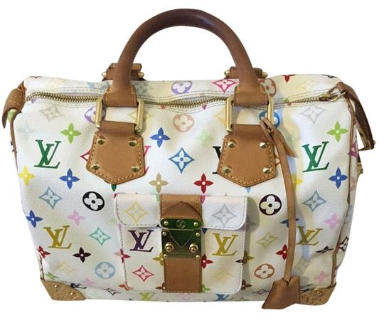 Louis Vuitton Monogram Speedy Lv Shoulder Bag