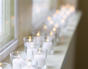 60 Clear Glass Votives/shot Glass Wedding Gifts
