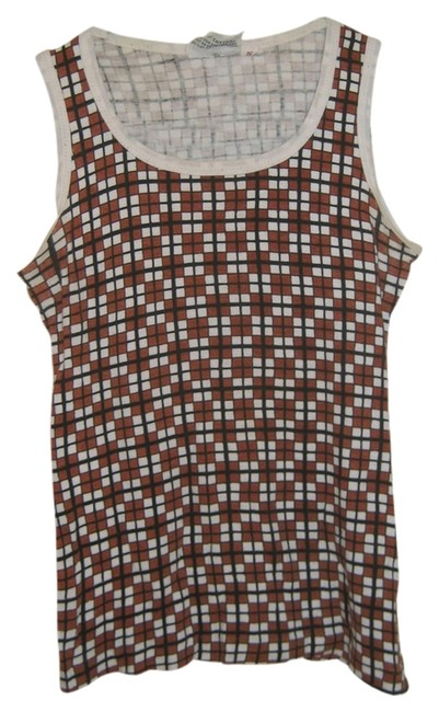 Preload https://item5.tradesy.com/images/brown-and-white-pronto-tank-topcami-size-4-s-2988394-0-0.jpg?width=400&height=650