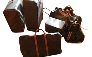Louis Vuitton Pre-owned Pre-loved Brown monogram Travel Bag