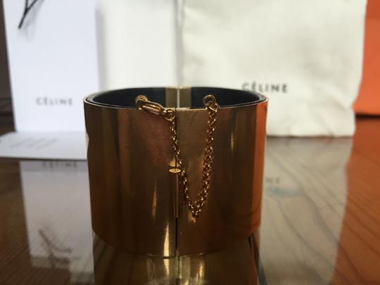 Céline Guaranteed Authentic Celine Gold Plated Cuff