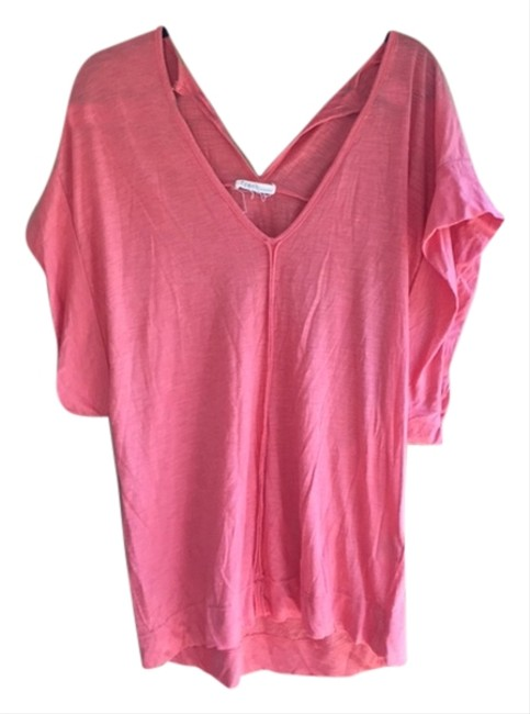 Preload https://item2.tradesy.com/images/fresh-laudry-coral-summer-t-shirt-2991736-0-0.jpg?width=400&height=650