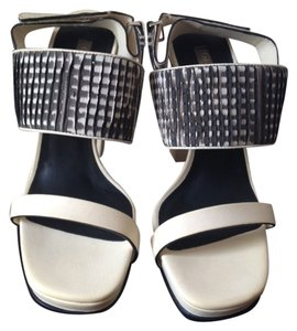 Calvin Klein Collection Stella Mccartney Michael Kors White Black Sandals