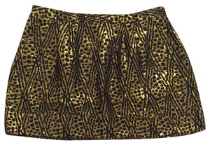 Thread Social Skirt Black/gold