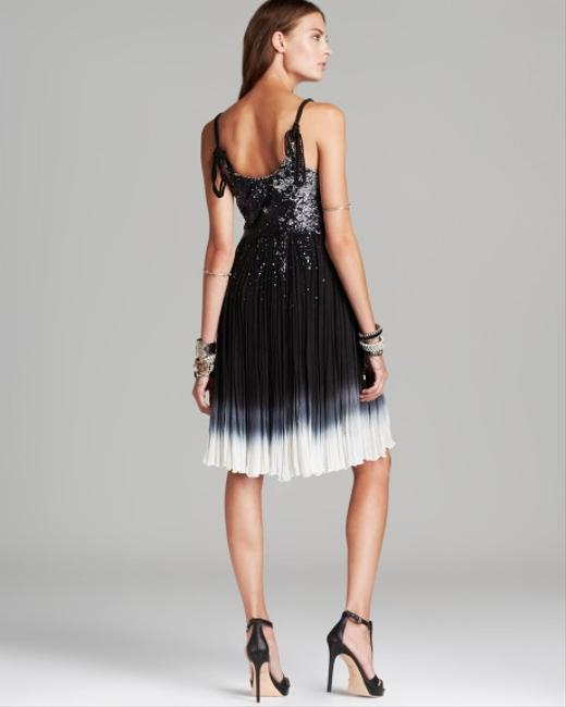 Free People Supernova Sz 6 Sm Stunning Braided Straps Dip-dye Boho Pleated Sequins Pull Over Dress