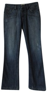 Antik Denim Flare Leg Jeans-Distressed