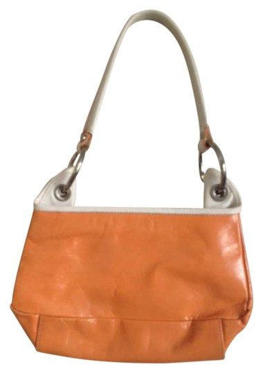 Preload https://img-static.tradesy.com/item/299260/kenneth-cole-tangerine-coral-peach-white-leather-shoulder-bag-0-0-540-540.jpg