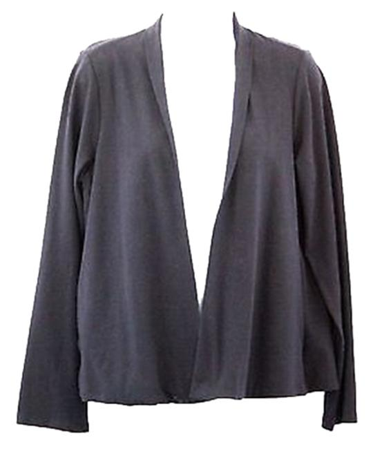 Preload https://item1.tradesy.com/images/eileen-fisher-navy-blue-jacket-s-cardigan-size-6-s-2992780-0-0.jpg?width=400&height=650