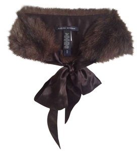 Banana Republic Faux fur & Ribbon collar