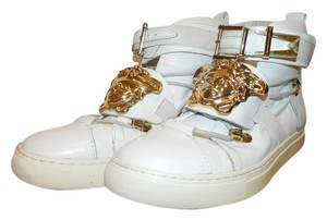 Versace Sneakers Trainers Buckles White Athletic